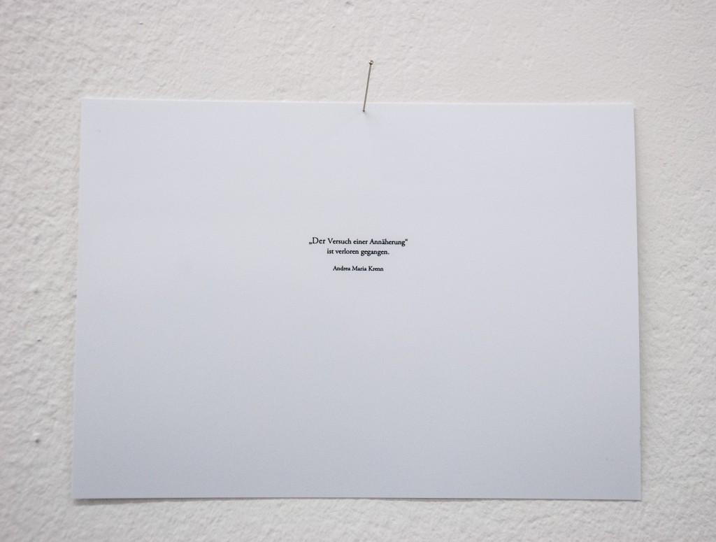 """""""der Versuch einer Annäherung"""" (mit geschlossenen Augen)"""