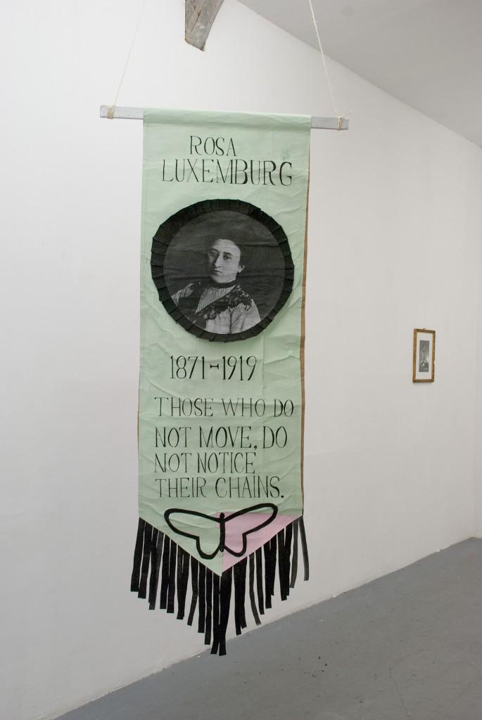 Rosa Luxenburg banner